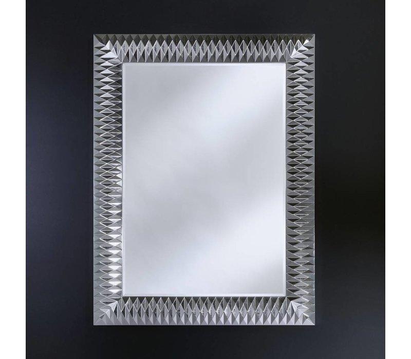 'Nick' Silver M spiegel elegant en stijlvol