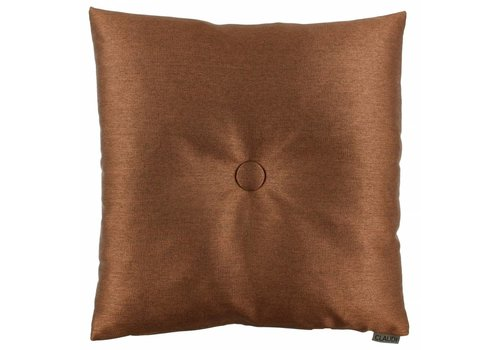 CLAUDI Chique Kissen  Celio Copper + XL button