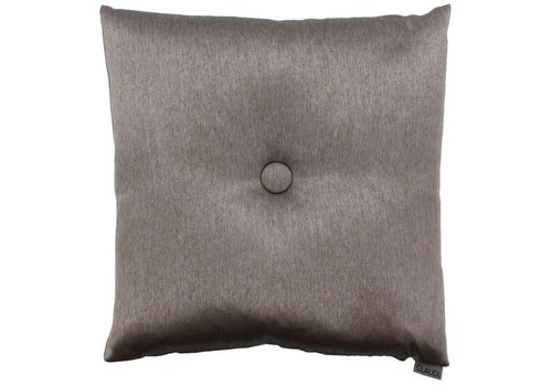 CLAUDI Chique Cushion  Celio Brown + XL button