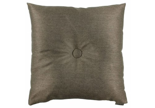 CLAUDI Chique Kissen  Celio Dark Taupe + XL button