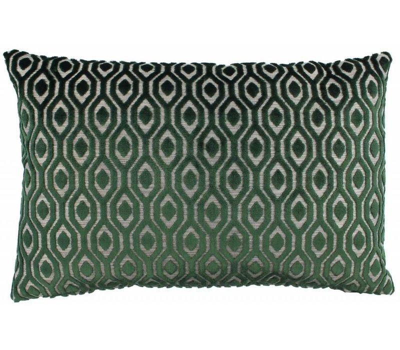 Sierkussen Shenley in de kleur Green