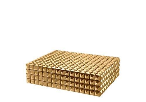 """EICHHOLTZ Luxus-Sammeldose """"Viviënne"""" L - gold"""