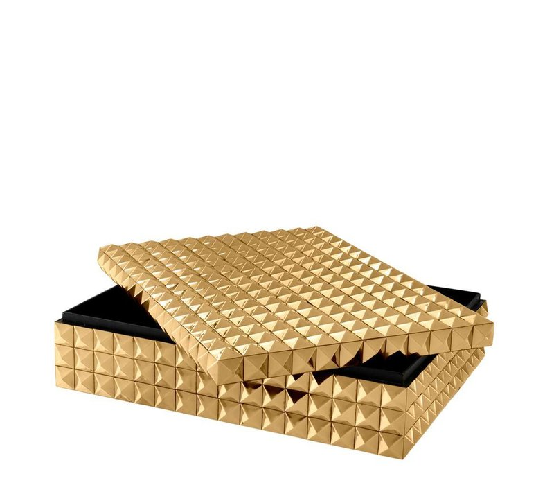 Luxus-Sammeldose 'Viviënne' L - Gold