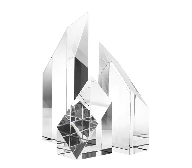 Decoratie object 'Scope' set van 3