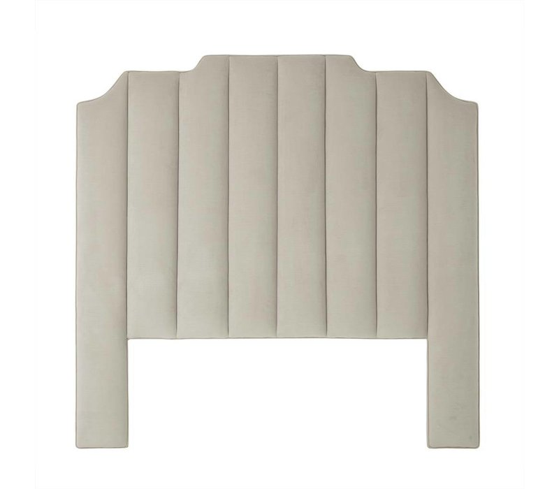 Headboard 'Holborn' Pebble grey