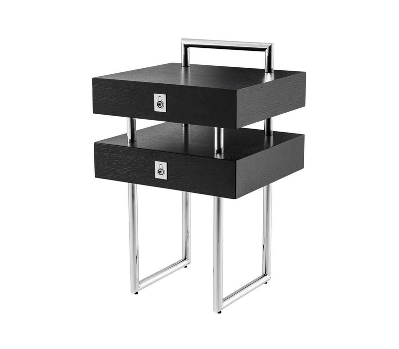Side table 'Bedini' 50 x 44.5 x H. 79 cm