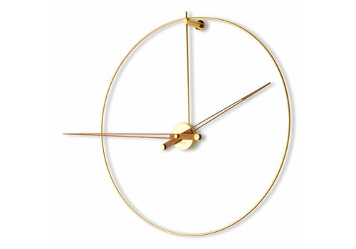 Nomon XXL Wall Clock 'New Anda Gold n'