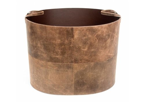Dome Deco Opbergmand 'Vintage Leather'