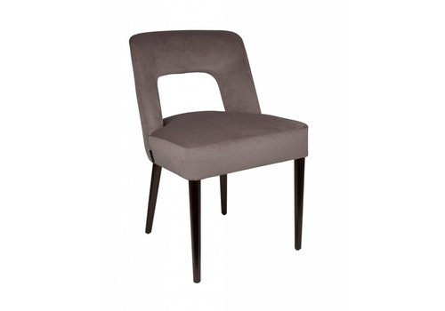 Dome Deco Dining chair black - Shell Taupe