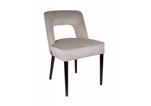 Dome Deco Dining chair black - Shell Cream