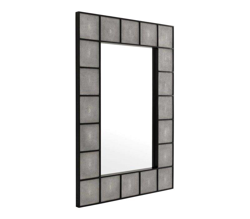 Modern mirror  'Shagreen'