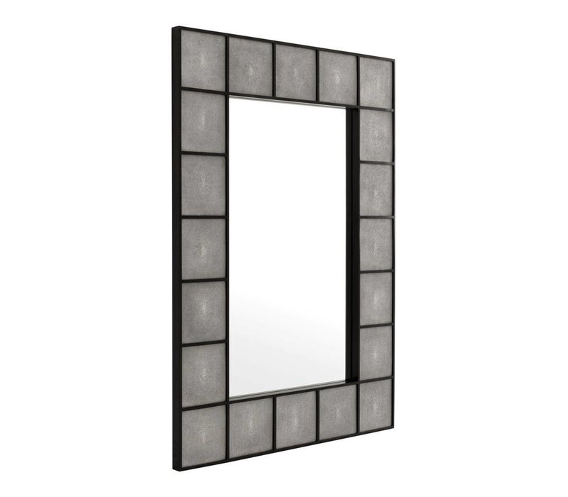 Moderner Spiegel  'Shagreen'