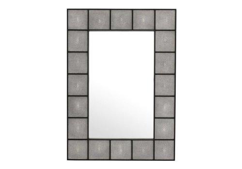 Eichholtz Modern mirror  'Shagreen'