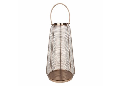 Dome Deco Windlicht Wires Copper L