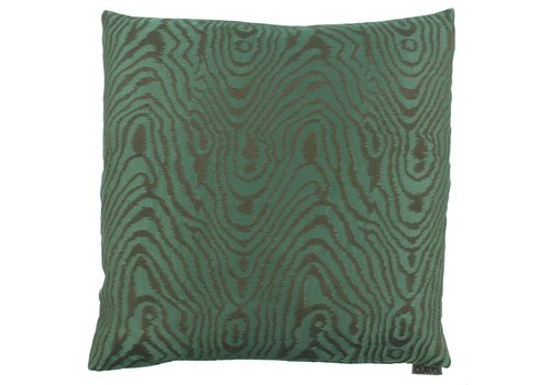 CLAUDI Throw pillow Mataya Dark Green