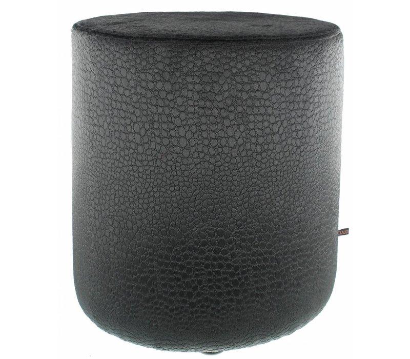 Pouf Biagio Dark Taupe - round