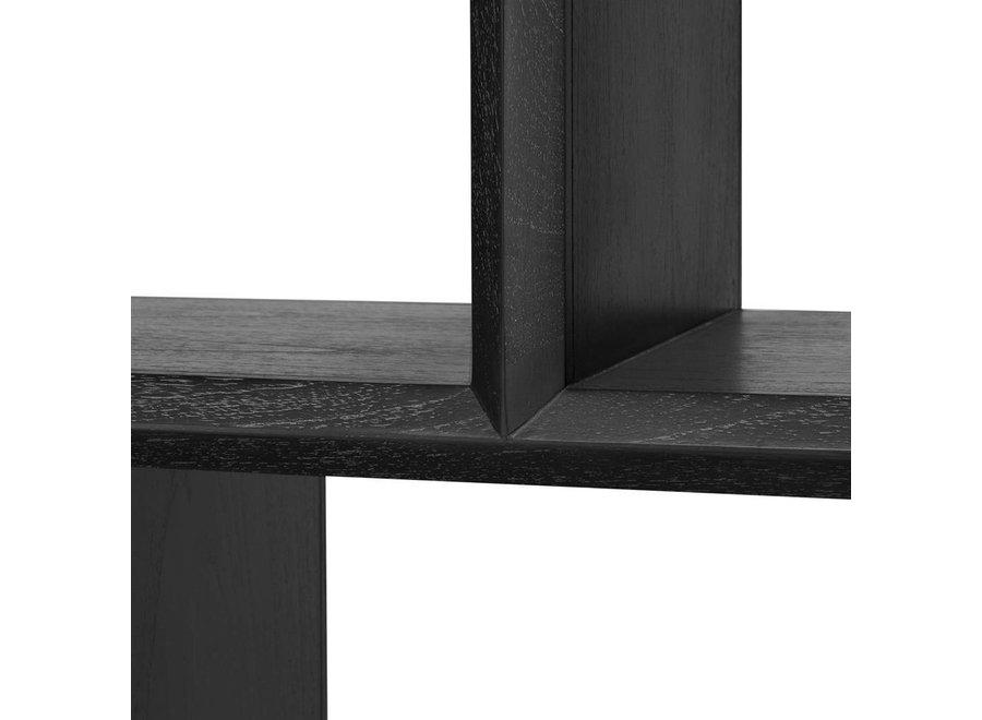 Cabinet Marguesa is een houten displaykast van eiken fineer