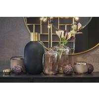 Glazen vaas 'Matt Black' - Medium  H49 x D24.5 cm