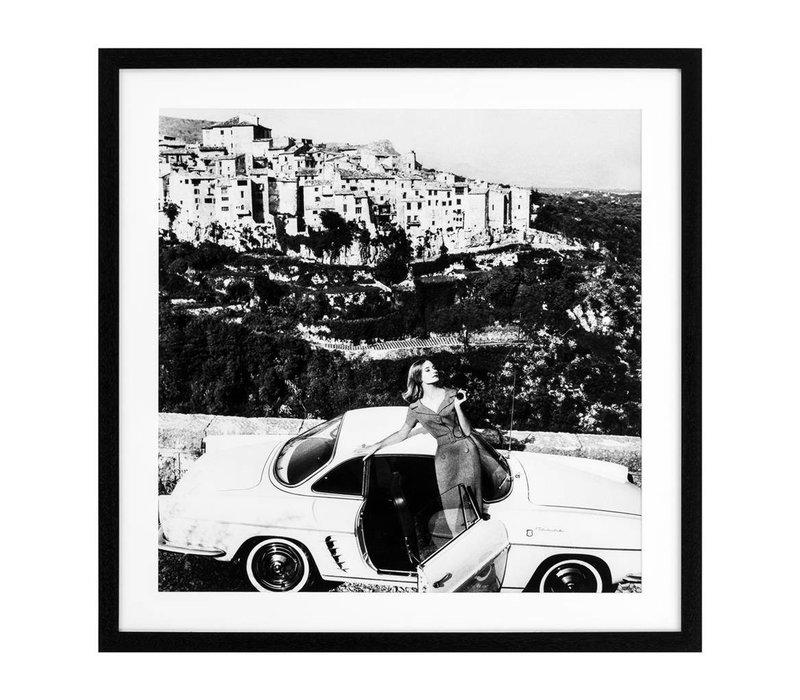 Print Vogue 1960, zwart/wit