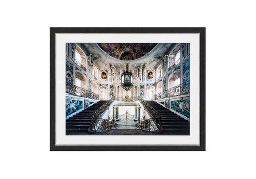 EICHHOLTZ Print Baroque Grand Staircase