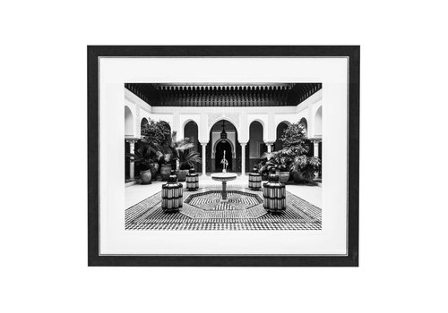 Eichholtz Print Courtyard Marrakech