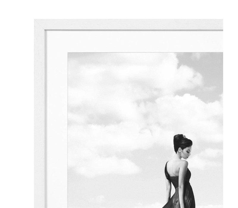 Print Trocadero View, black/white