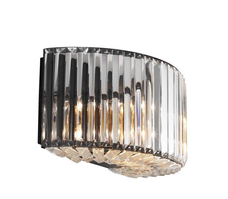Wall Lamp Infinity, gunmetal