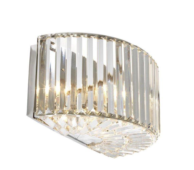Wall Lamp Infinity, nickel