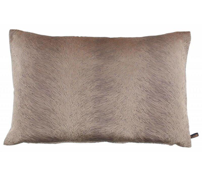 Cushion Perla color Nude