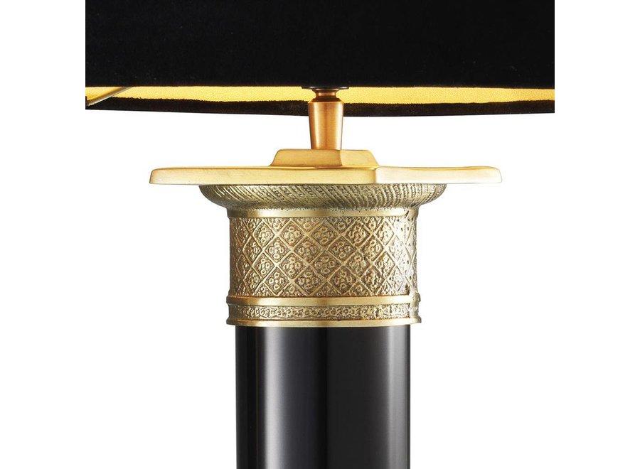 Table Lamp Monaco Black & Gold