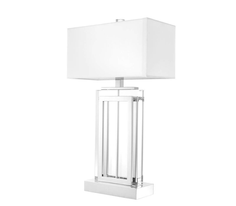 Table Lamp 'Arlington' met witte kap