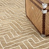 Eichholtz Carpet Sazerac, met een zigzag lijnenspel