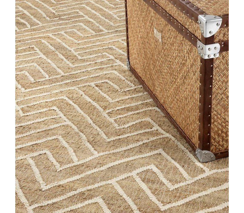 Carpet Sazerac, met een zigzag lijnenspel