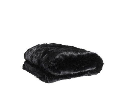 EICHHOLTZ Fur Plaid Alaska Black