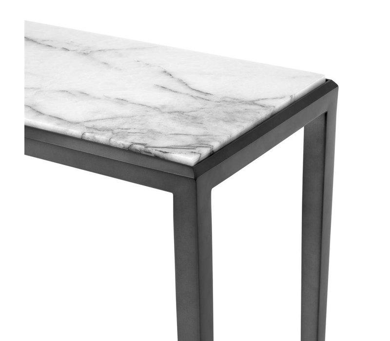 Design console table 'Henley' S Bronze