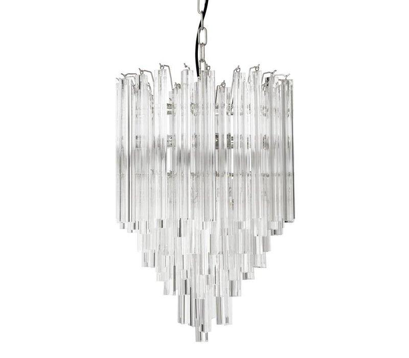 Hanglamp 'Chandelier Salerno' van het Nederlandse merk Eichholtz, maat ø 42 x H. 61,5 cm