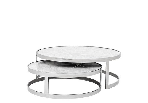 EICHHOLTZ Coffee table Fletcher Set of 2