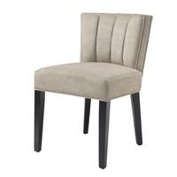 Dining chair - Windhaven Greige velvet