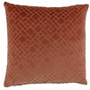 CLAUDI Cushion Assane in color Marsala