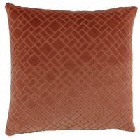 Cushion Assane in color Marsala