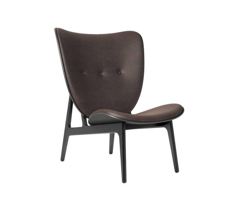 Elephant Lounge Chair mit Lederbezug