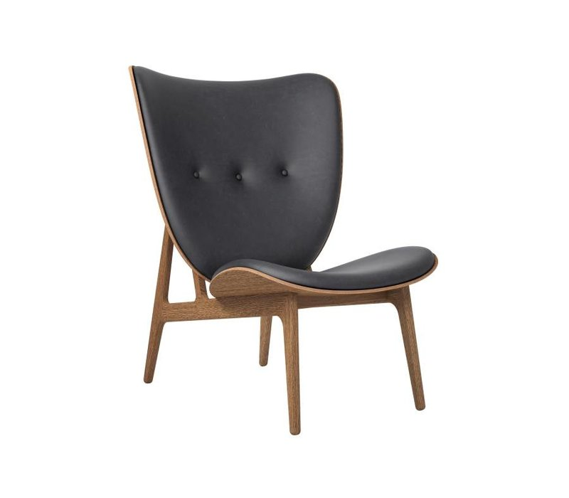 Elephant Lounge Chair mit Lederbezug
