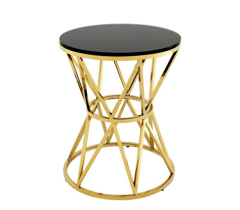 Side table 'Domingo L' Gold 44 x 55,5cm (h)