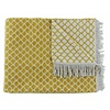 CLAUDI Plaid Colly Farbe Mustard