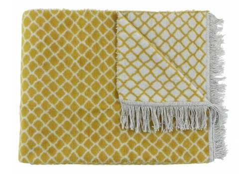 CLAUDI Chique Plaid Colly Mustard