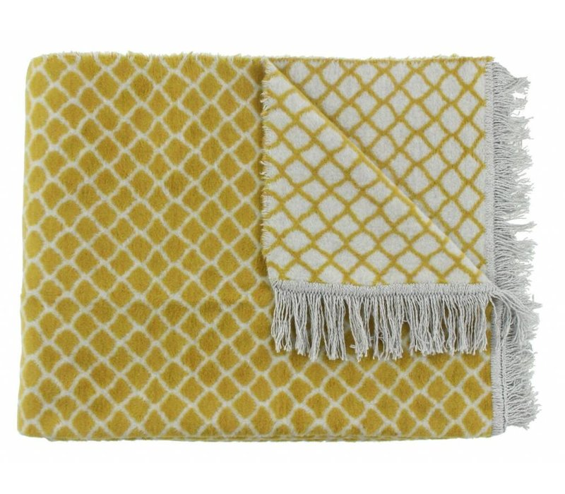 Plaid Colly Farbe Mustard