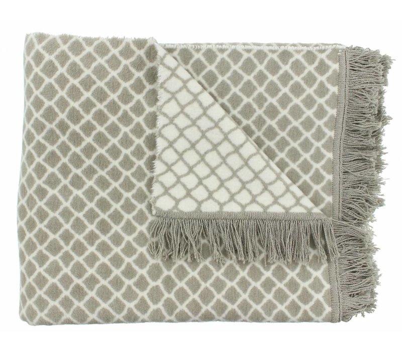 Plaid Colly color Grey