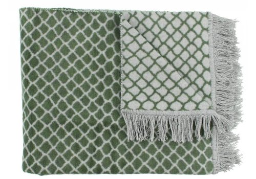 CLAUDI Chique Plaid Colly Olive