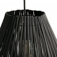 Lamp Fishtrap L, made of bamboo