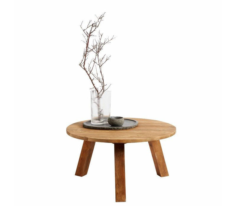 Coffee table Davy,  recycled teak